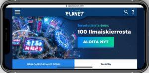 Casino Planet mobiilikasino