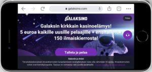 Galaksino mobiilikasino