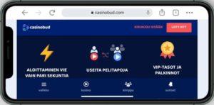 CasinoBud mobiilikasino