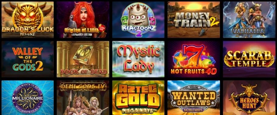 Zet Casino suosituimmat pelit