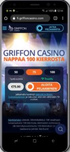 Griffon mobiilikasino