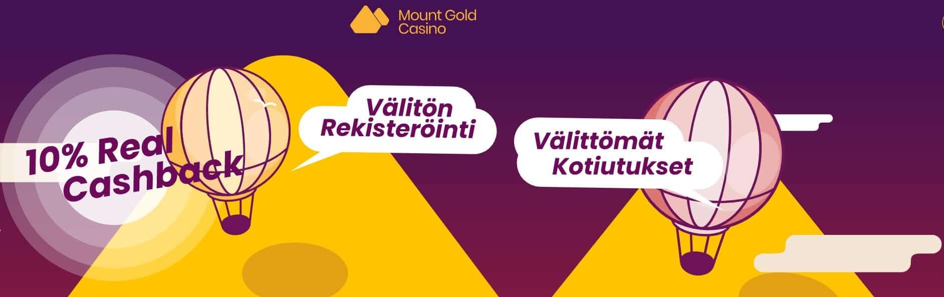 Mount Gold Casino arvostelu etusivu