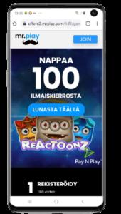 Mr Play mobiilikasino