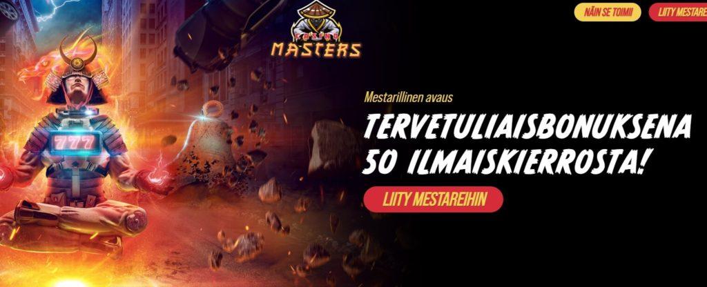 Casino Masters etusivu