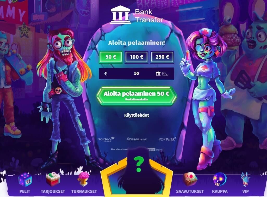 casombie casino etusivu