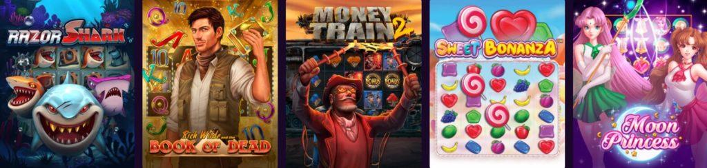 Kanuuna Casinon pelivalikoima