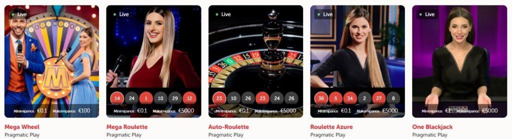 Koi Casino livepelit