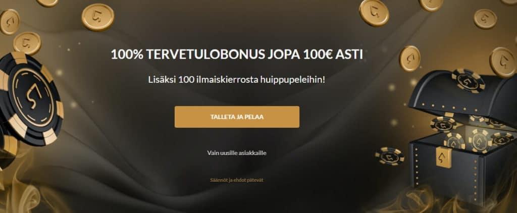SuperSeven Casino etusivu