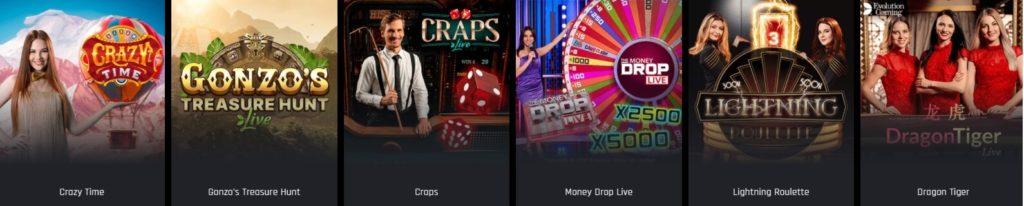 casino universe livecasino