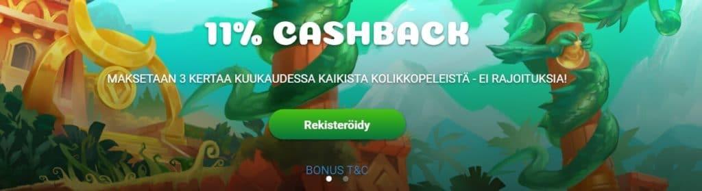 Samosa Casino etusivu