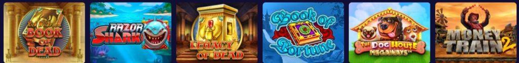 Stelario Casino kolikkopelit
