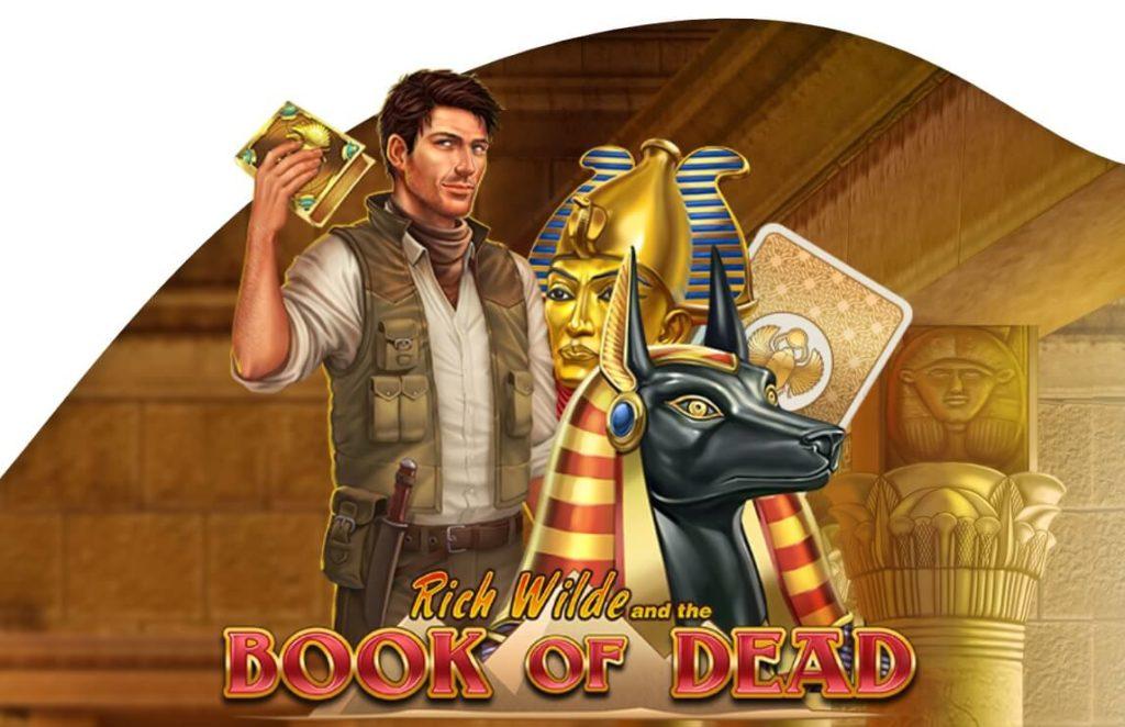 Lähes jokaisella kasinolla ilman rekisteröintiä löytyy Book of Dead